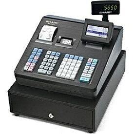 シャープ SHARP 電子レジスター (ブロック別キーボードタイプ) XE-A407-B(ブラック)[XEA407B]
