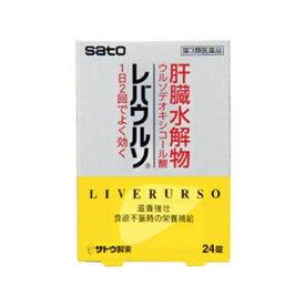 【第3類医薬品】 レバウルソ(24錠)〔ビタミン剤〕【wtmedi】佐藤製薬 sato