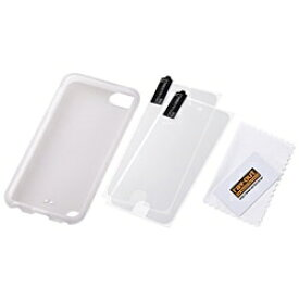 レイアウト rayout iPod touch 5G専用 シリコンケース(ホワイト) RT-T5B1/W [iPod touch][RTT5B1W]