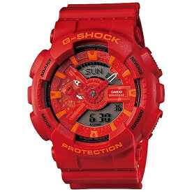 カシオ CASIO G-SHOCK(G-ショック) 「Blue and Red Series」 GA-110AC-4AJF