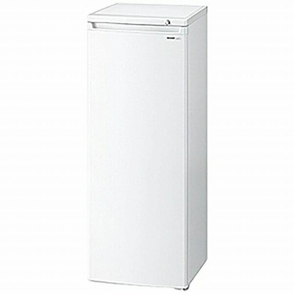 シャープ SHARP FJ-HS17X-W 冷凍庫 ホワイト系 [1ドア /右開きタイプ /167L][FJHS17X]