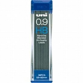 三菱鉛筆 MITSUBISHI PENCIL [シャープ替芯] ユニ<ナノダイヤ> (硬度:HB・芯径:0.9mm) U09202NDHB