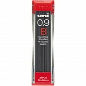 三菱鉛筆 MITSUBISHI PENCIL [シャープ替芯] ユニ<ナノダイヤ> (硬度:B・芯径:0.9mm) U09202NDB