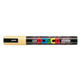 三菱鉛筆 MITSUBISHI PENCIL [サインペン] ポスカ 中字丸芯 (うすだいだい) PC5M.54[PC5M54]