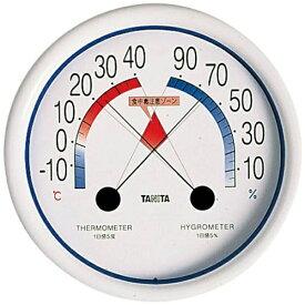 タニタ TANITA 食中毒注意ゾーン付温湿度計 5488 ホワイト
