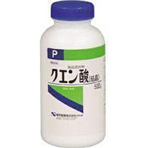 クエン酸 【結晶】(500g)【代引きの場合】大型商品と同一注文不可・最短日配送健栄製薬