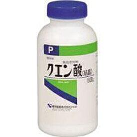 健栄製薬 KENEI Pharmaceutical 【wtcool】クエン酸 【結晶】(500g)【代引きの場合】大型商品と同一注文不可・最短日配送