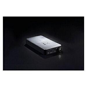ALPHADESIGNLABS 【ハイレゾ音源対応】ヘッドホンアンプ DAC付(シルバー) ADL-X1-SIL[ADLX1SIL]