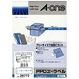 エーワン A-one マルチラベル PPC コピー ラベル 28772 [B5 /100シート /1面 /マット]【rb_mmme】
