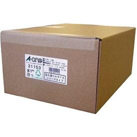 エーワン A-one パソコンプリンタ&ワープロラベル NEC文豪シリーズタイプ2列用 ホワイト 31153 [A4 /1000シート /12面 /マット][宛名シール]