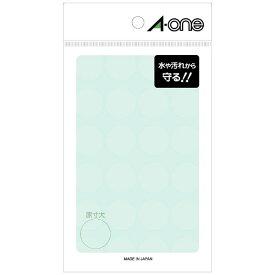 エーワン A-one 透明保護ラベル 透明 08378 [8シート /24面 /光沢]