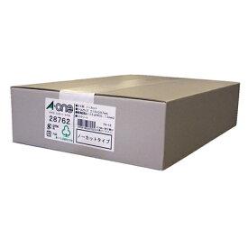 エーワン A-one マルチラベル PPC コピー ラベル ホワイト 28762 [A4 /500シート /1面 /マット][シール用紙]