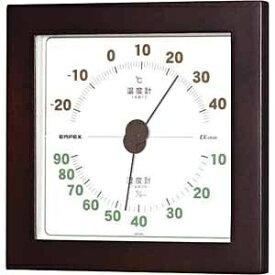 エンペックス EMPEX INSTRUMENTS TM-7629 温湿度計 ウエストン ウォルナット [アナログ][TM7629]