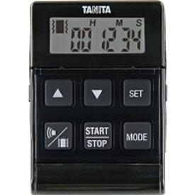 タニタ TANITA バイブレーションタイマー24時間計 クイック TD-370N-BK ブラック[TD370NBK]