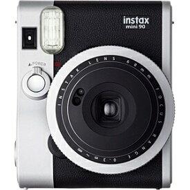 富士フイルム FUJIFILM インスタントカメラ instax mini 90 『チェキ』 ネオクラシック[チェキ 本体 カメラ INSMINI90NC]