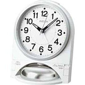 セイコー SEIKO 目覚まし時計 PYXIS 白 NR436W [デジタル][目覚まし時計 大音量 秒針静音]