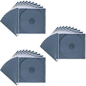 サンワサプライ SANWA SUPPLY Blu-ray/DVD/CD対応収納ケース 1枚収納×30 ブラック FCD-PN30BK[FCDPN30BK]