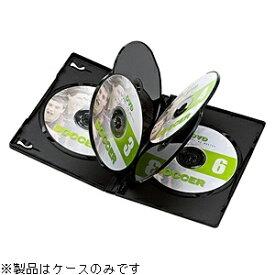 サンワサプライ SANWA SUPPLY Blu-ray/DVD/CD対応トールケース 6枚収納×10 ブラック DVD-TN6-10BK[DVDTN610BK]