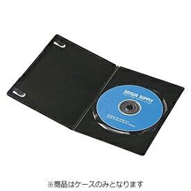 サンワサプライ SANWA SUPPLY Blu-ray/DVD/CD対応スリムトールケース 1枚収納×10 ブラック DVD-TU1-10BK[DVDTU110BK]