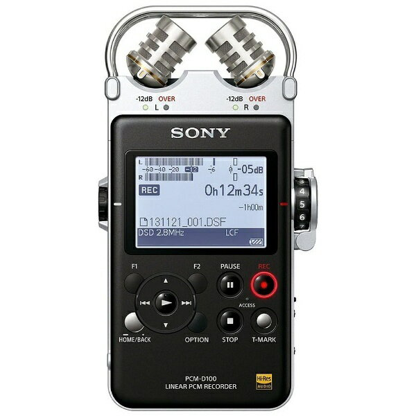 【送料無料】 ソニー SONY 【ハイレゾ音源対応】ポータブルリニアPCMレコーダー【32GB】 PCM-D100[PCMD100]