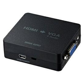 サンワサプライ SANWA SUPPLY [HDMI メス−メス D-sub15pin] HDMI信号VGA変換コンバーター ブラック VGA-CVHD1[VGACVHD1]