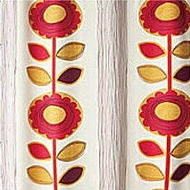 スミノエ SUMINOE ドレープカーテン サンフラワー(100×135cm/ピンク)【日本製】[V1211100X135]
