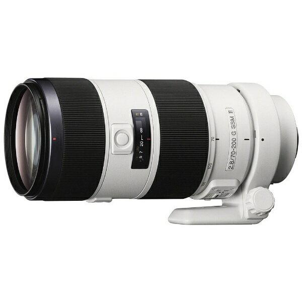 ソニー SONY カメラレンズ 70-200mm F2.8 G SSM II【ソニーA(α)マウント】[SAL70200G2]