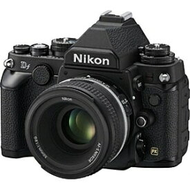 ニコン Nikon Df デジタル一眼レフカメラ ブラック [単焦点レンズ][DFLKBK]