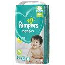 P&G ピーアンドジー Pampers(パンパース) さらさらケア テープ スーパージャンボ Mサイズ(6kg-11kg) 64枚〔おむつ〕【wtbaby】