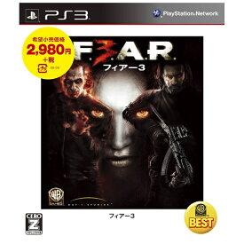 ワーナーブラザースジャパン Warner Bros. WARNER THE BEST フィアー3(F.3.A.R.)【PS3ゲームソフト】