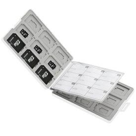 エレコム ELECOM SD/microSDメモリカードケース[プラスチックタイプ] SD 18枚+microSD 18枚 ホワイト CMC-SDCPP36WH[CMCSDCPP36WH]