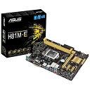 【送料無料】 ASUS Micro ATXマザーボード [LGA1150・Intel H81・DDR3] H81M-E[H81ME]