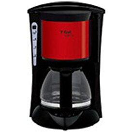 T-fal ティファール CM151GJP コーヒーメーカー SUBITO(スビト) メタリックルビーレッド[CM151GJP]