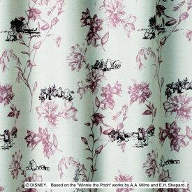 スミノエ SUMINOE ドレープカーテン プー/シーン(100×200cm/ピンク)【日本製】[M1105100X200]