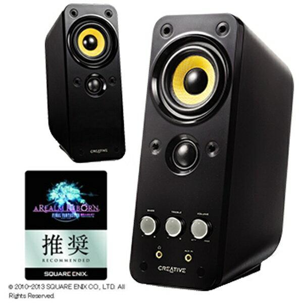クリエイティブメディア CREATIVE PCスピーカー [φ3.5ミニプラグ/AUX] Creative GigaWorks T20 Series II(ブラック) GW-T20-IIR 【FF XIV:新生エオルゼア 推奨周辺機器】[GWT20IIR]