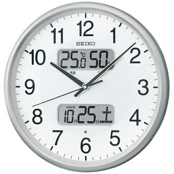 セイコー SEIKO 電波掛け時計 KX383S[KX383S]