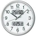 【あす楽対象】【送料無料】 セイコー 電波掛け時計 KX383S[KX383S]