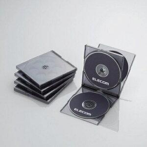 Blu-ray/DVD/CDケース 標準/PS/4枚収納 CCD-JSCNQ5