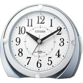 リズム時計 RHYTHM 電波目覚まし時計 「ネムリーナマロンF」 4RL431-N04(青メタリック色)[4RL431N04]