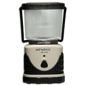 ジェントス GENTOS SOL-013C ランタン Explorer(エクスプローラー) ライトモカ [LED /単1乾電池×3][SOL013C]