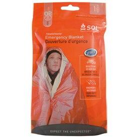 スター商事 STAR CORP サバイバル・防災 グッズ ブランケット エスオーエル(SOL) Heatsheet Emergency Blanket ヒートシート エマージェンシー ブランケット 1人用(142×213cm) 12132