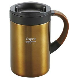 キャプテンスタッグ CAPTAIN STAG シーエスプリ ダブルステンレスマグカップ350(ブラウン) M5382