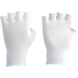 トラスコ中山 インナー編手袋 半指タイプ フリーサイズ DPM301EXF (1袋10双)