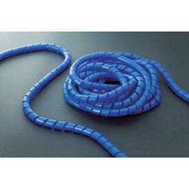 トラスコ中山 スパイラルチューブ10m 結束径1.5~10.0 青 TSP3B