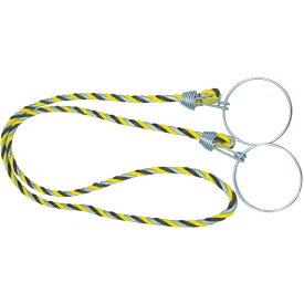 トラスコ中山 カラーコーン用ロープ 反射標識 12mmX2m TCC31
