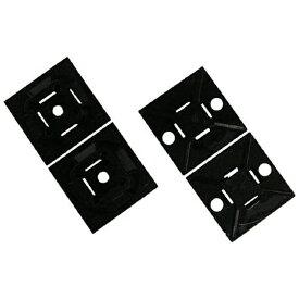 パンドウイット PANDUIT マウントベース ゴム系粘着テープ付き 黒 ABMMAC20 (1袋100個)