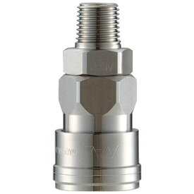長堀工業 NAC クイックカップリング AL20型 ステンレス製 メネジ取付用 CAL23SM3