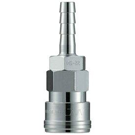 長堀工業 NAC クイックカップリング AL20型 鋼鉄製 ホース取付用 CAL22SH