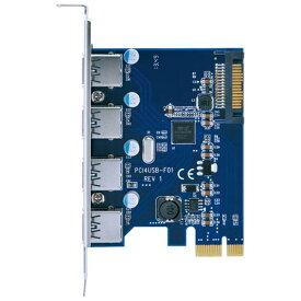 センチュリー Century Corporation USB3.0(4ポート)増設用 PCI Express x1ボード ポートを増やしタイ CIF-USB3P4FL[CIFUSB3P4FL]