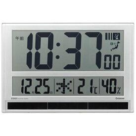 キングジム KING JIM ハイブリット掛け時計 シルバー GDD-001 [電波自動受信機能有][GDD001]